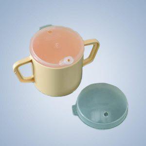 Homecraft Two Handle Mug with Lid