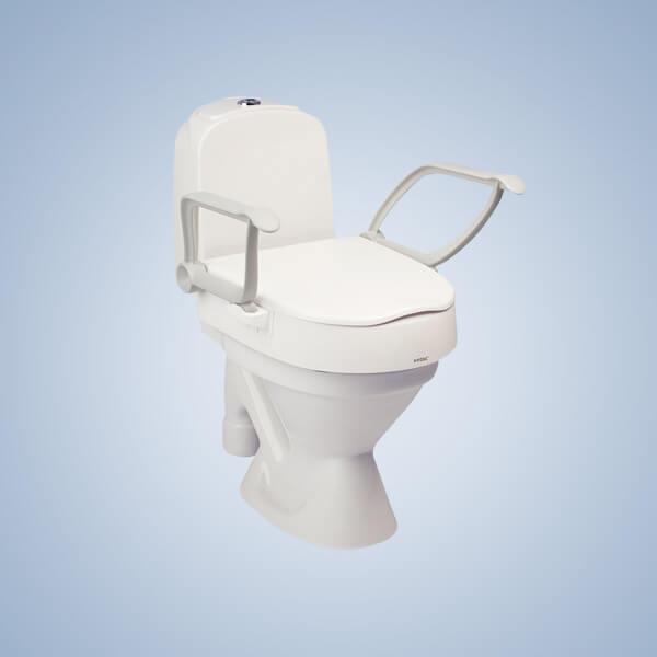 Arm Support Toilet Seat Raiser